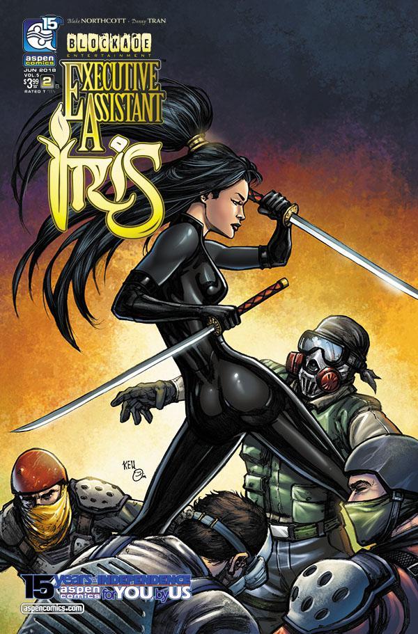 Executive Assistant Iris Vol 4 #2 Cover B Variant Keu Cha Cover