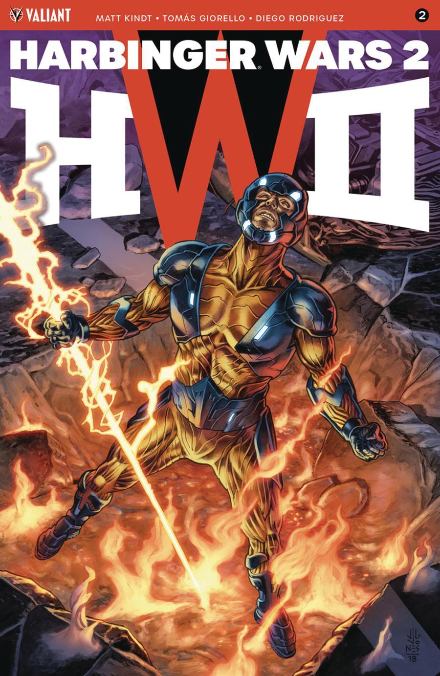 Harbinger Wars 2 #2 Cover A Regular JG Jones Cover