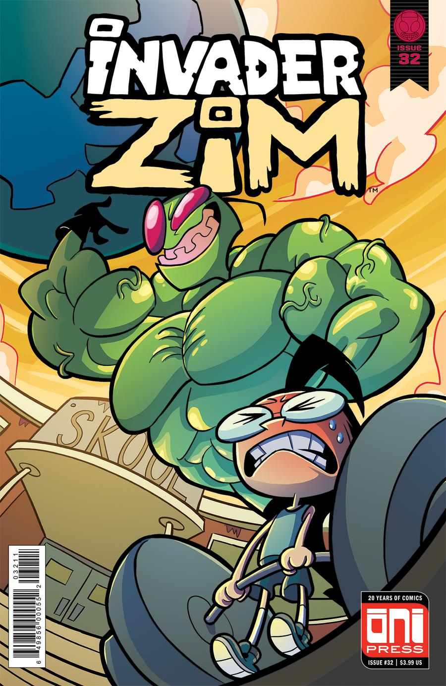 Invader Zim #32 Cover A Regular Maddie C Cover