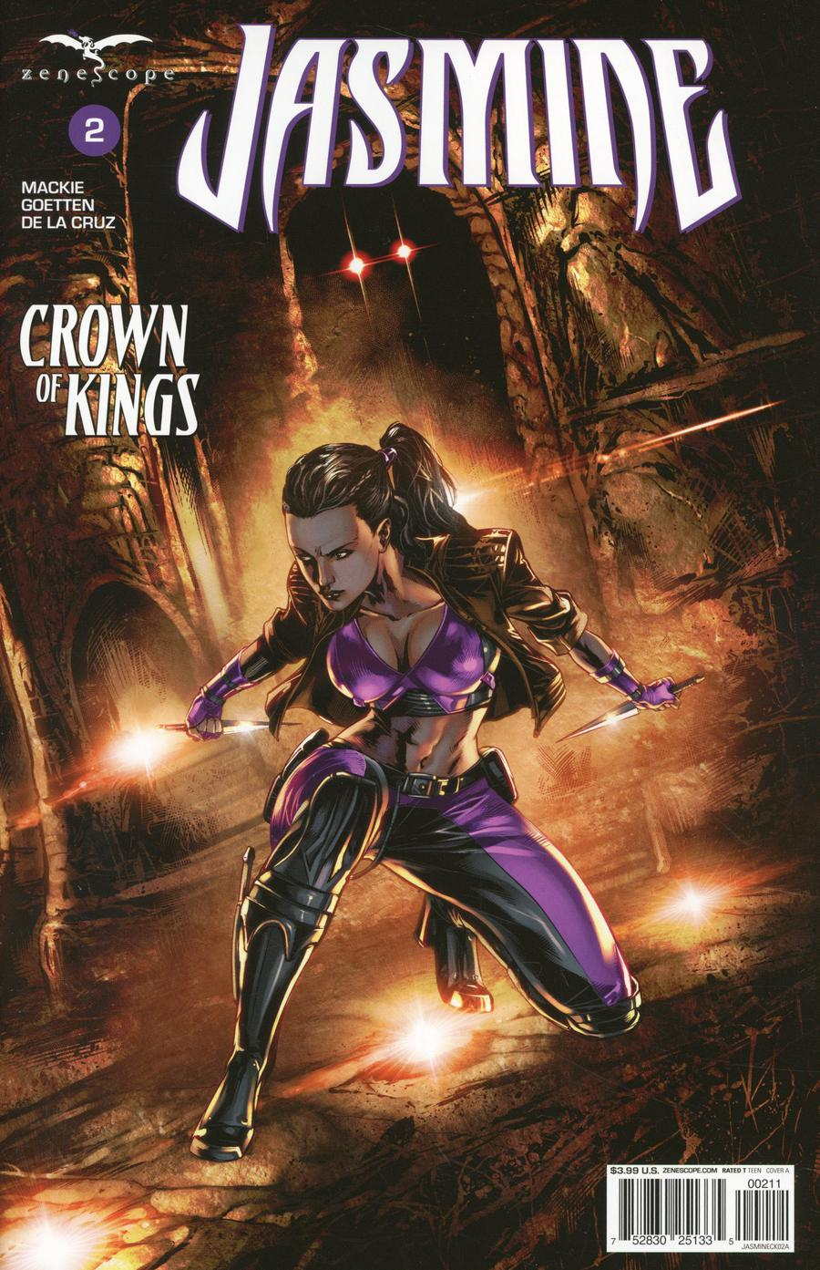 Grimm Fairy Tales Presents Jasmine Crown Of Kings #2 Cover A Caanan White