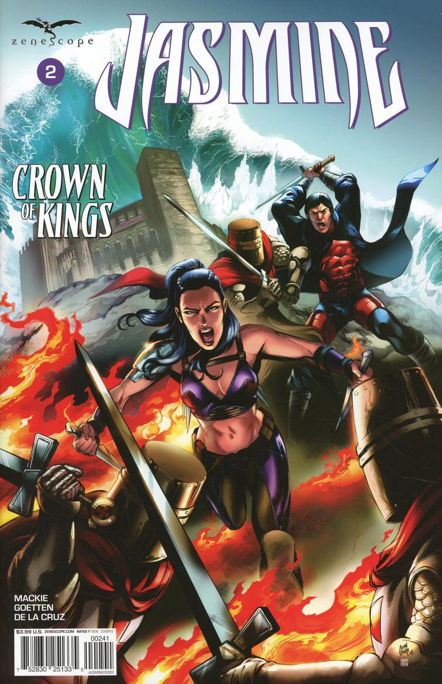 Grimm Fairy Tales Presents Jasmine Crown Of Kings #2 Cover D Allan Otero