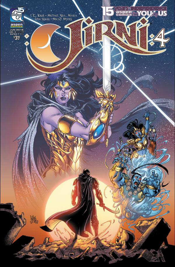 Jirni Vol 3 #4 Cover B Variant V Ken Marion Cover