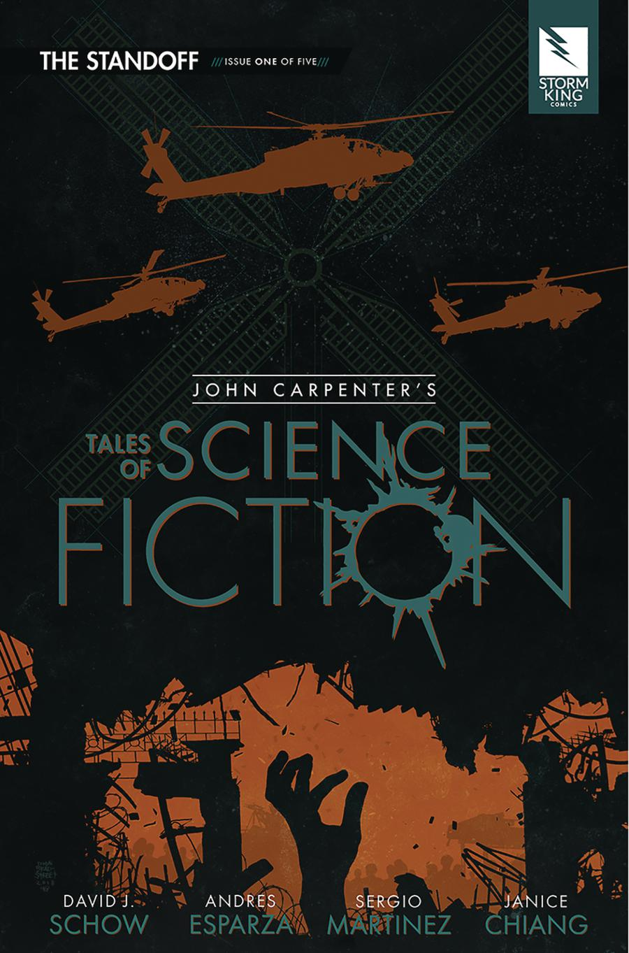 John Carpenters Tales Of Science Fiction Standoff #1 Cover A Regular Tim Bradstreet Cover