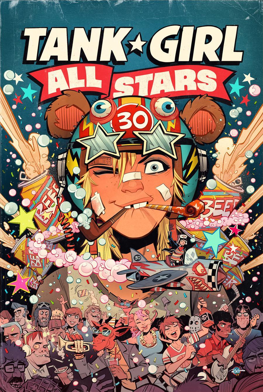 Tank Girl All Stars #1 Cover A Regular Brett Parson Cover