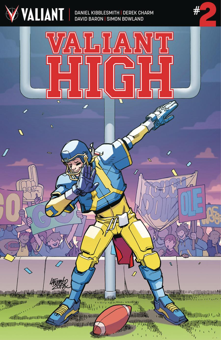Valiant High #2 Cover A Regular David Lafuente Cover