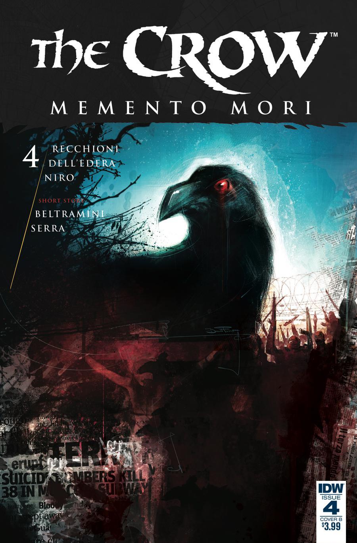 Crow Memento Mori #4 Cover B Variant Davide Furno Cover