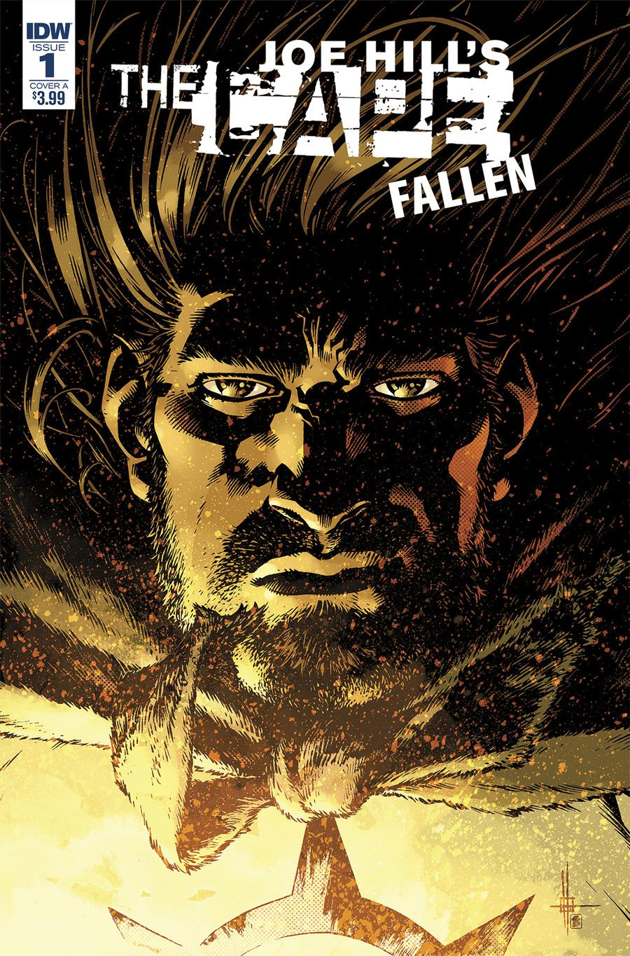 Joe Hills The Cape Fallen #1 Cover A Regular Zach Howard Cover