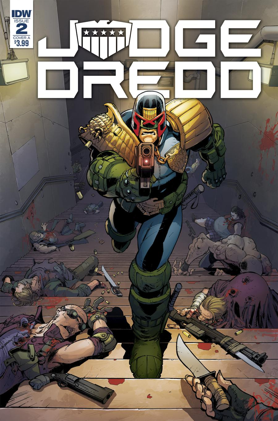 Judge Dredd Under Siege #2 Cover A Regular Max Dunbar Cover