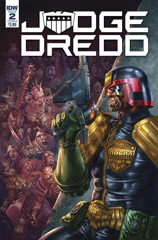 Judge Dredd Under Siege #2 Cover B Variant Alan Quah Cover