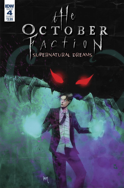 October Faction Supernatural Dreams #4 Cover A Regular Damien Worm Cover