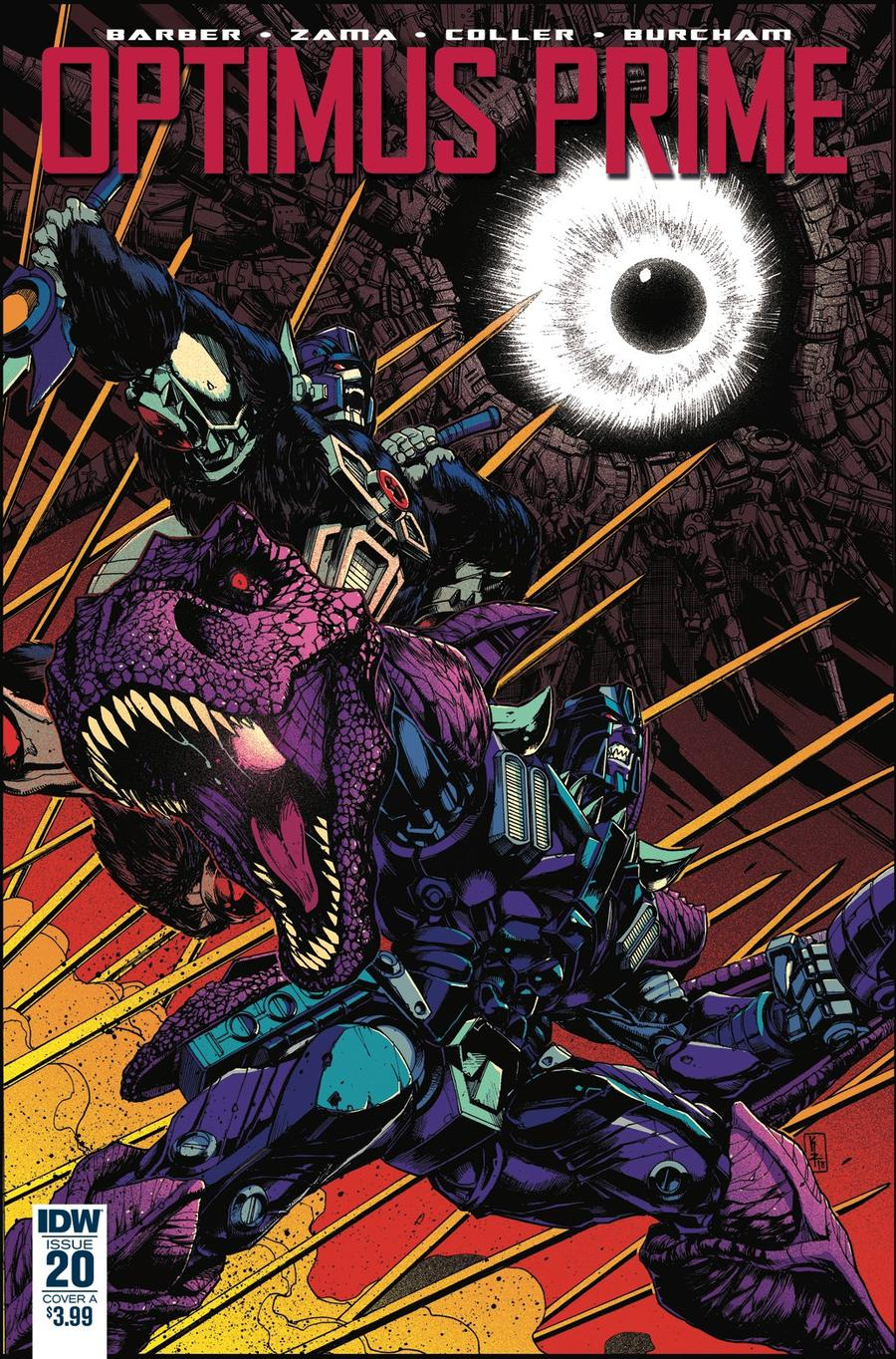 Optimus Prime #20 Cover A Regular Kei Zama Cover