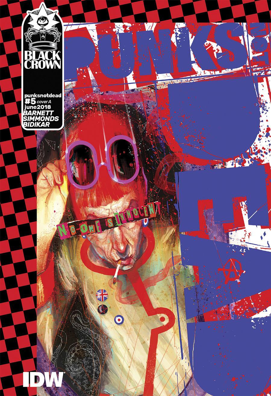 Punks Not Dead #5 Cover A Regular Martin Simmonds Cover