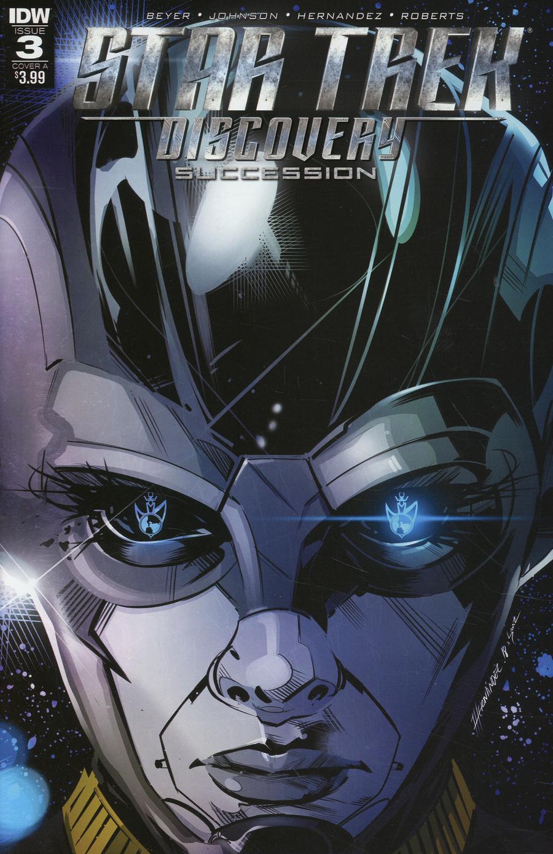 Star Trek Discovery Succession #3 Cover A Regular Angel Hernandez Cover