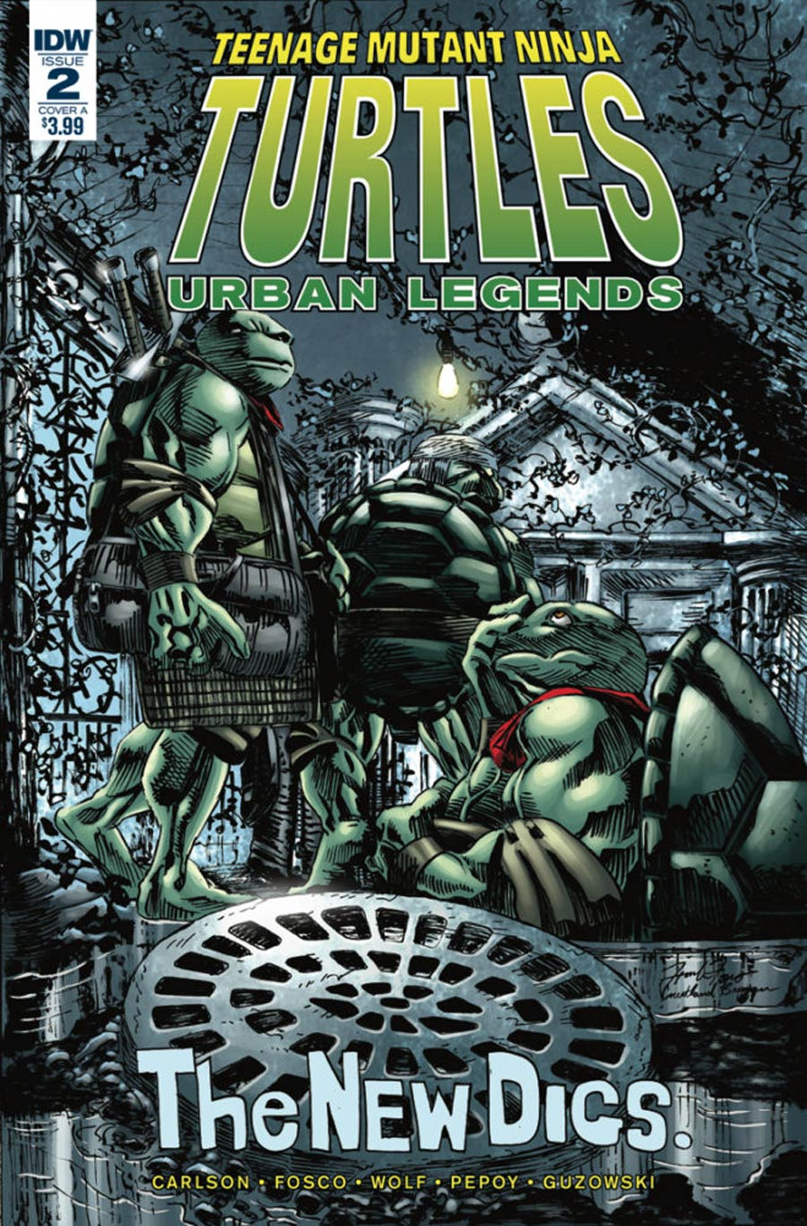 Teenage Mutant Ninja Turtles Urban Legends #2 Cover A Regular Frank Fosco Cover