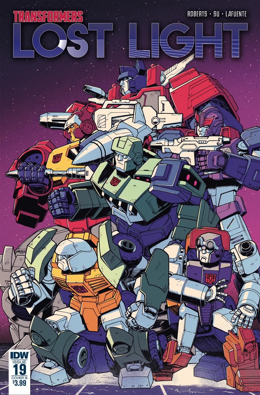 Transformers Lost Light #19 Cover B Variant Nick Roche Cover