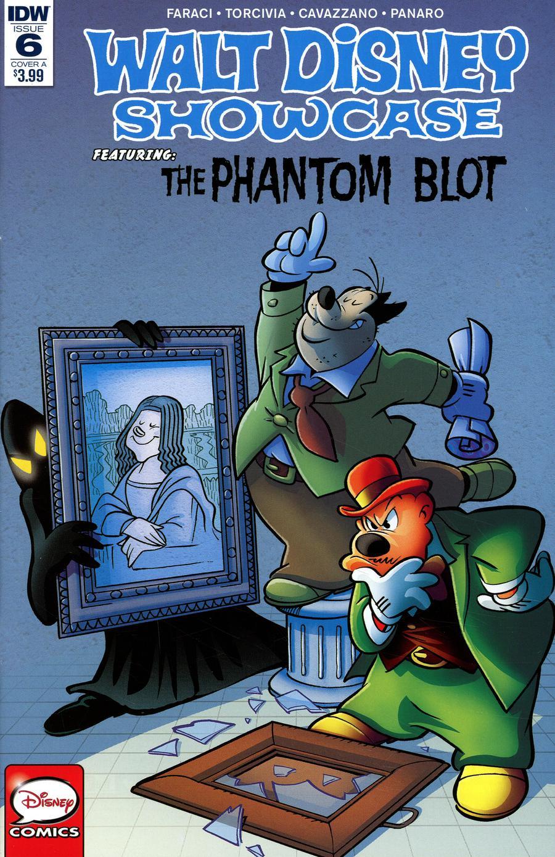 Walt Disney Showcase Vol 2 #6 Phantom Blot Cover A Regular Giorgio Cavazzano Cover