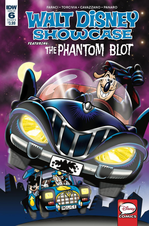 Walt Disney Showcase Vol 2 #6 Phantom Blot Cover B Variant Andrea Freccero Cover