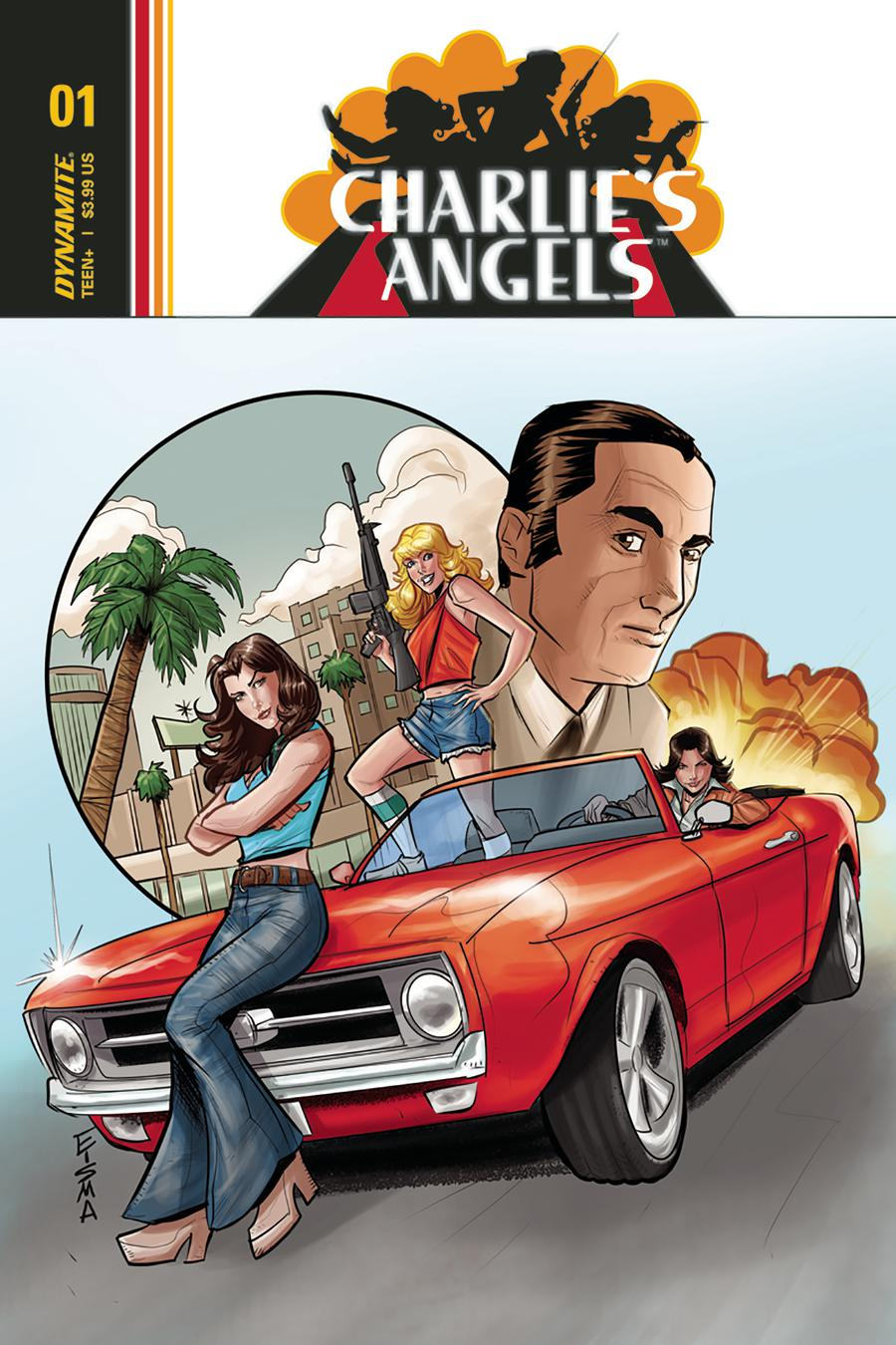 Charlies Angels #1 Cover B Variant Joe Eisma Cover