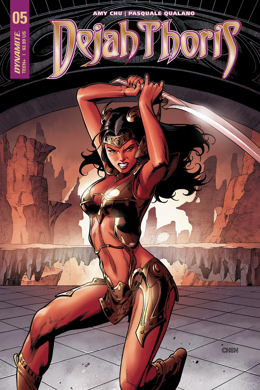 Dejah Thoris Vol 2 #5 Cover B Variant Sean Chen Cover