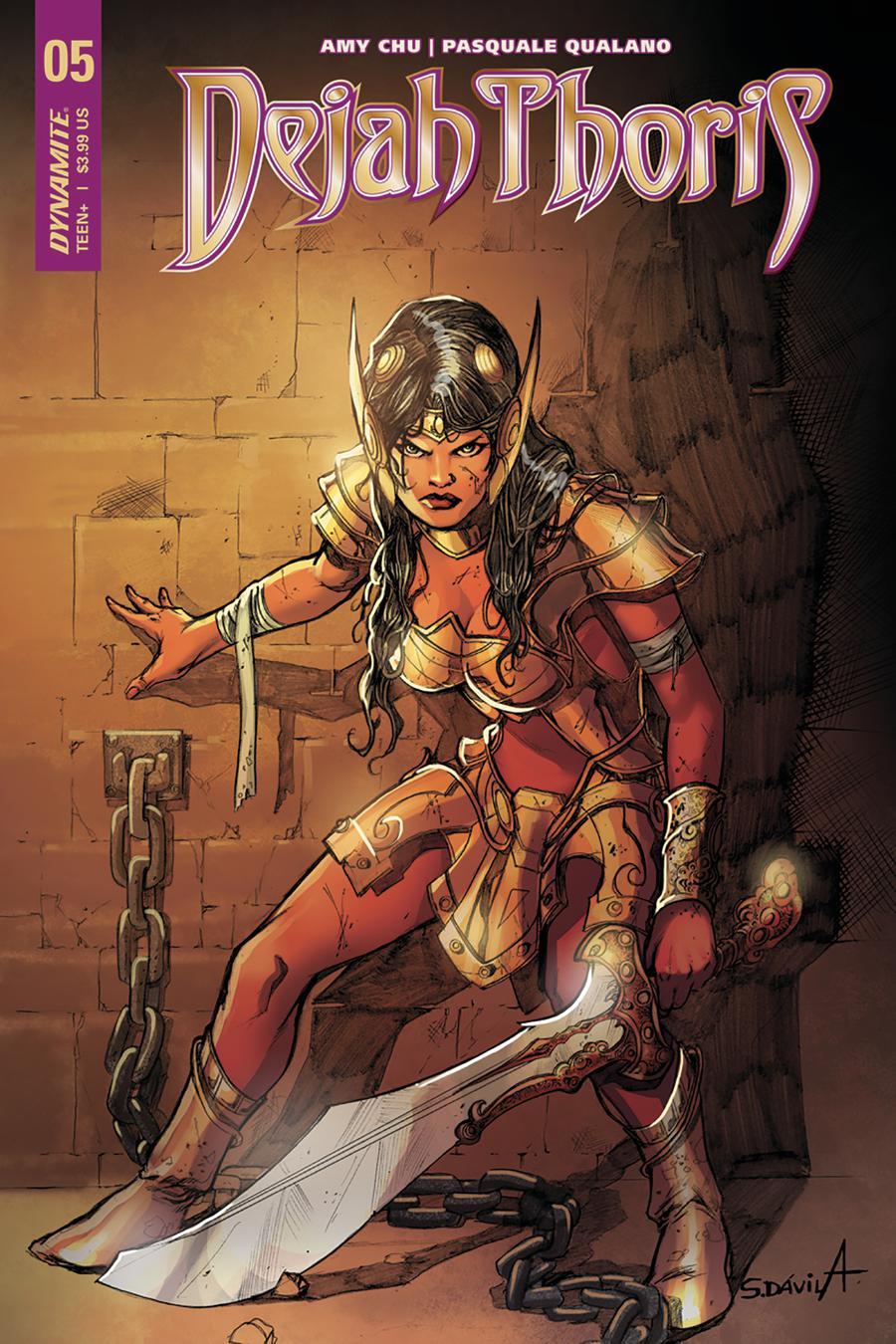 Dejah Thoris Vol 2 #5 Cover C Variant Sergio Davila Cover