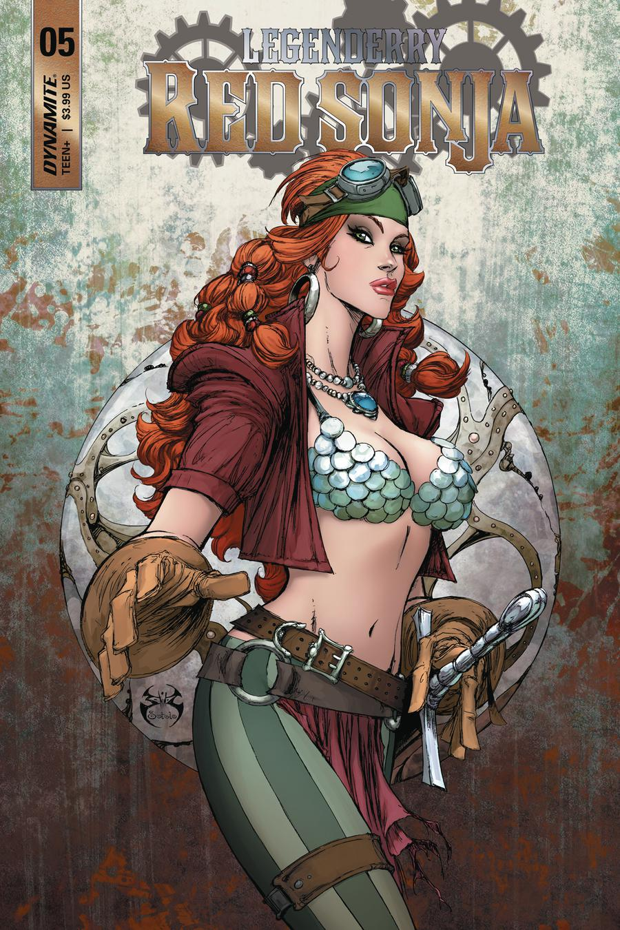 Legenderry Red Sonja Vol 2 #5 Cover A Regular Joe Benitez Cover