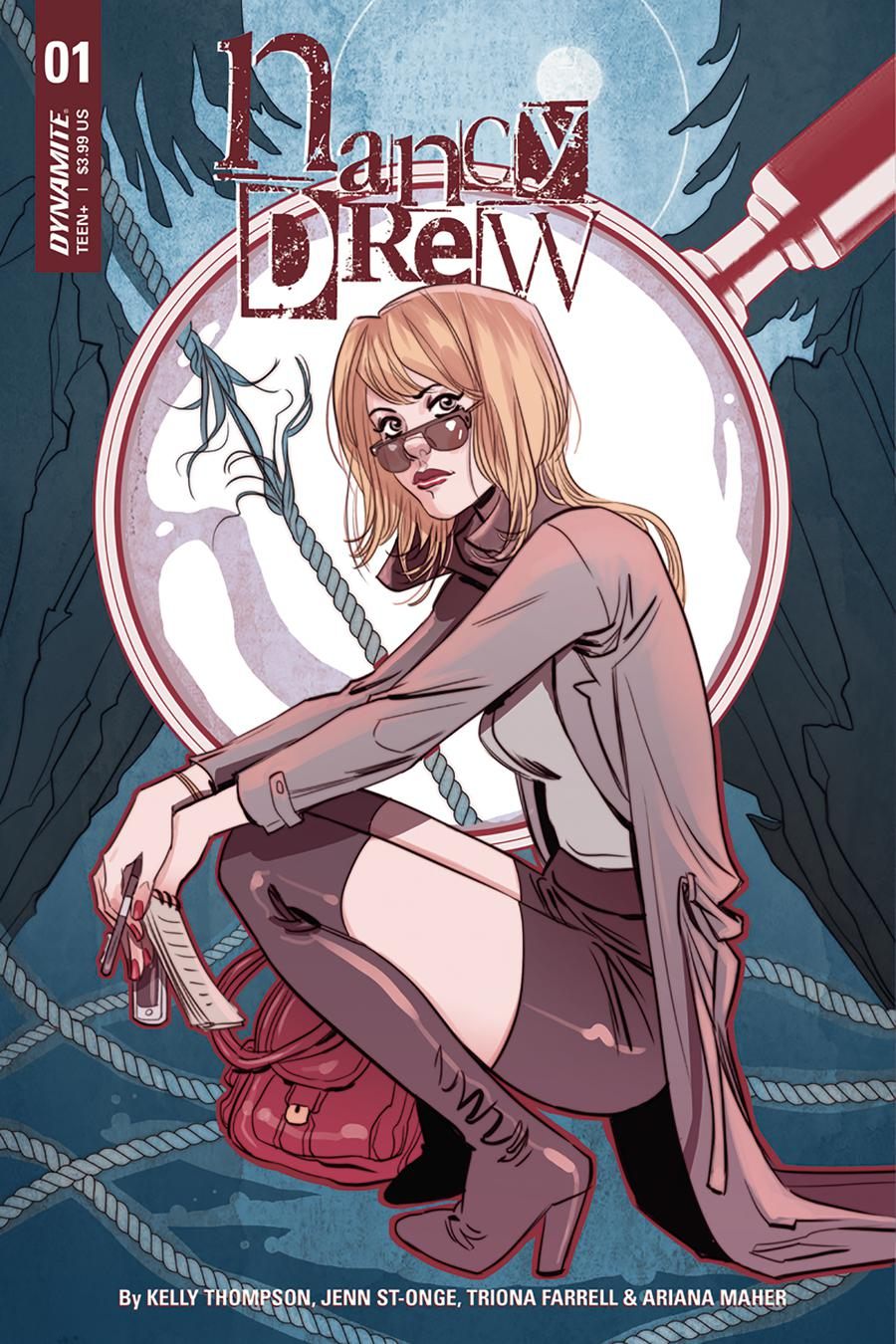 Nancy Drew #1 Cover B Variant Marguerite Sauvage Cover
