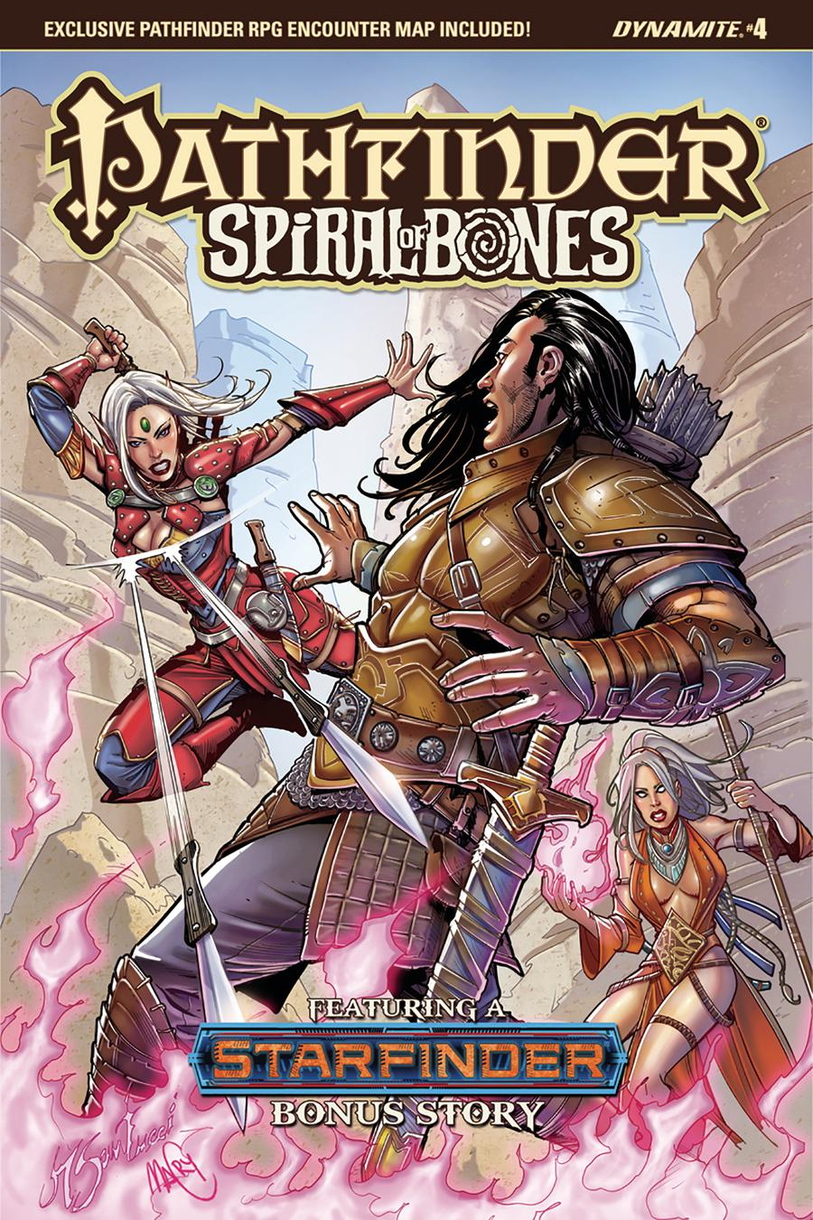Pathfinder Spiral Of Bones #4 Cover A Regular Marco Santucci Cover
