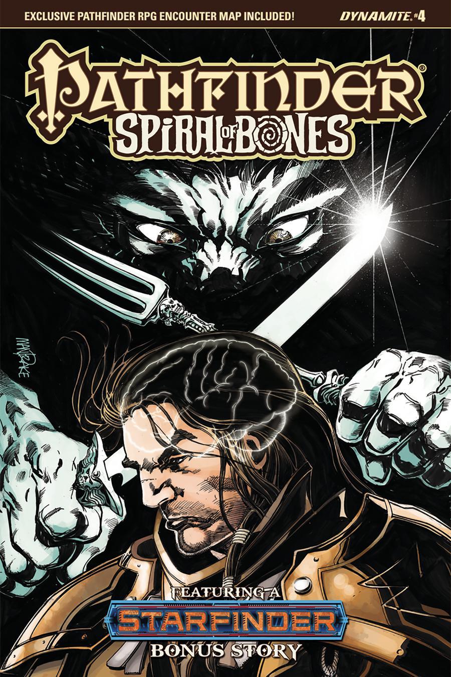 Pathfinder Spiral Of Bones #4 Cover C Variant Tom Mandrake Cover