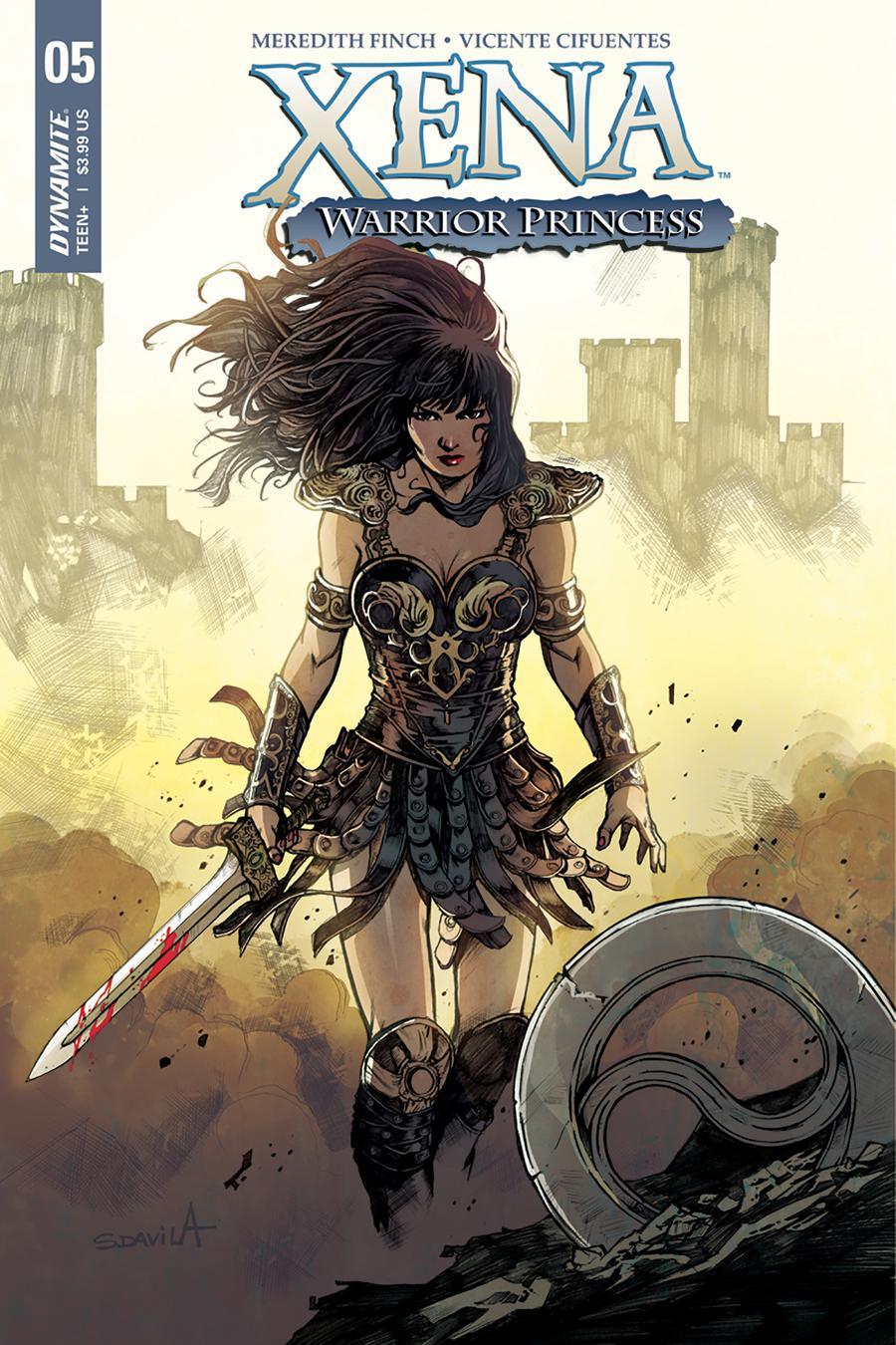 Xena Vol 2 #5 Cover A Regular Sergio Davila Cover