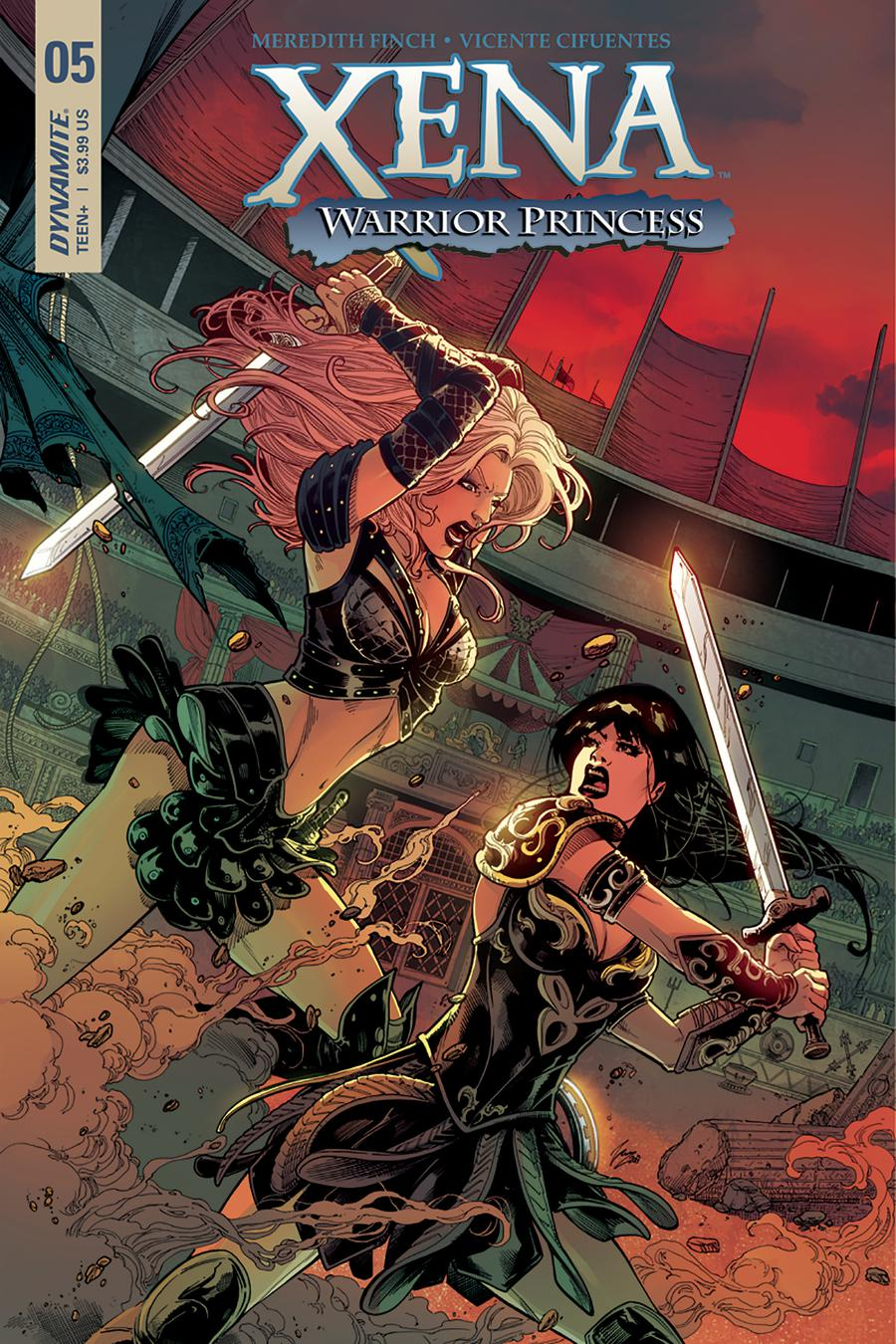 Xena Vol 2 #5 Cover B Variant Vicente Cifuentes Cover