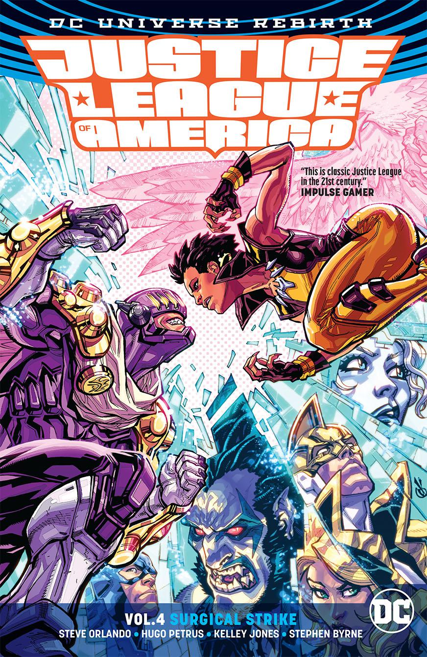 Justice League Of America (Rebirth) Vol 4 Surgical Strike TP