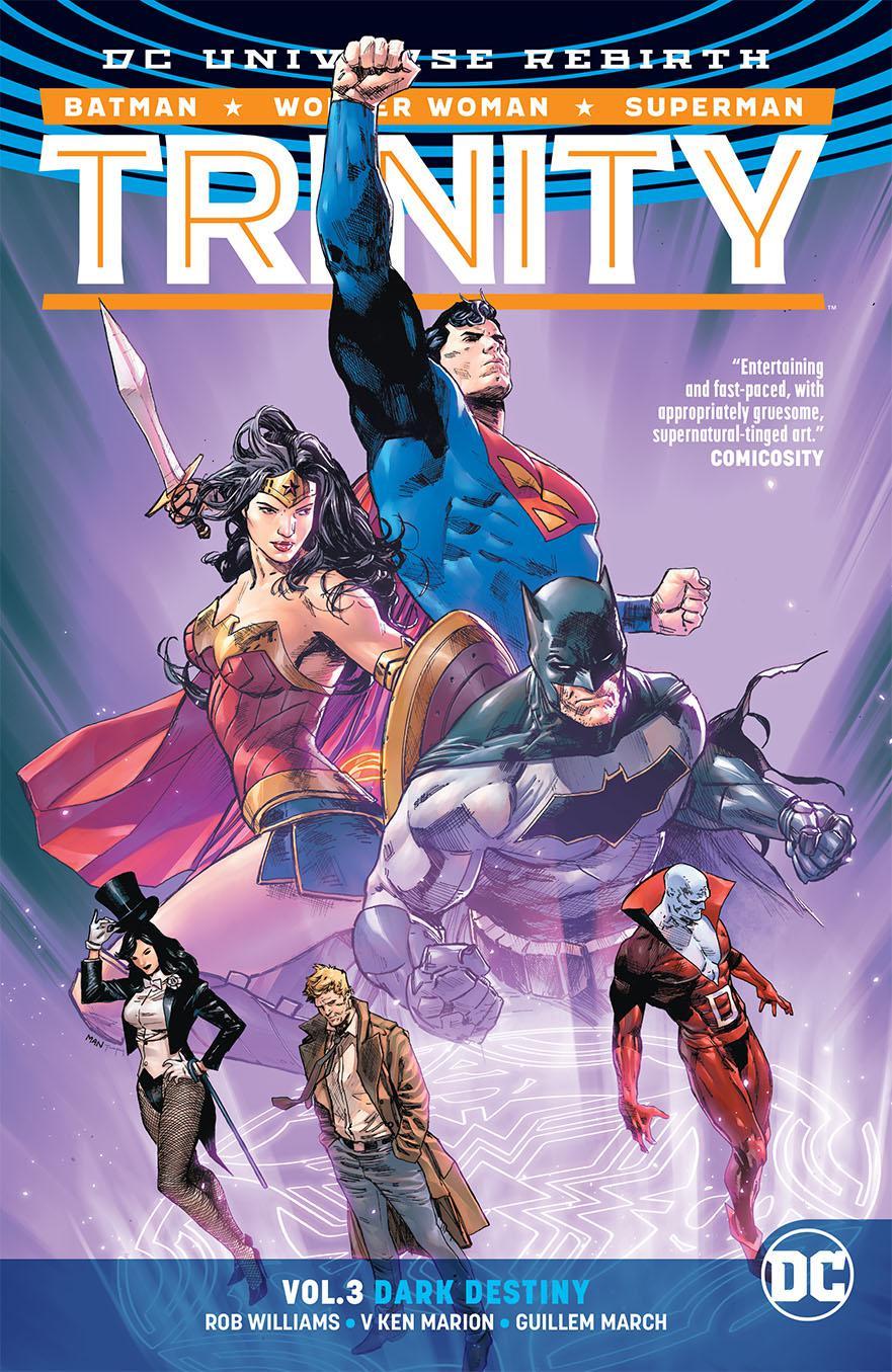 Trinity (Rebirth) Vol 3 Dark Destiny TP