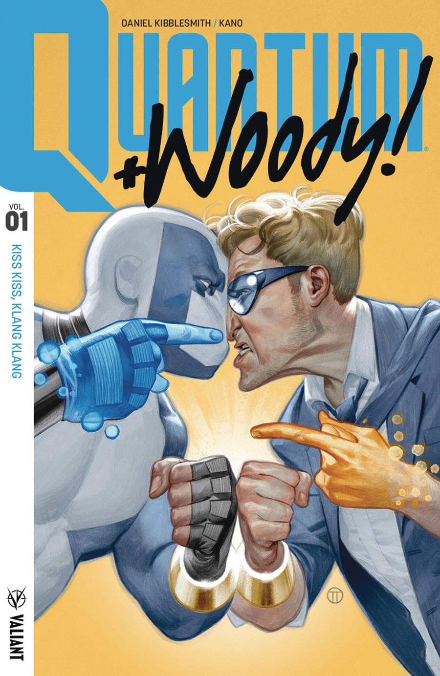 Quantum & Woody (2017) Vol 1 Kiss Kiss Klang Klang TP