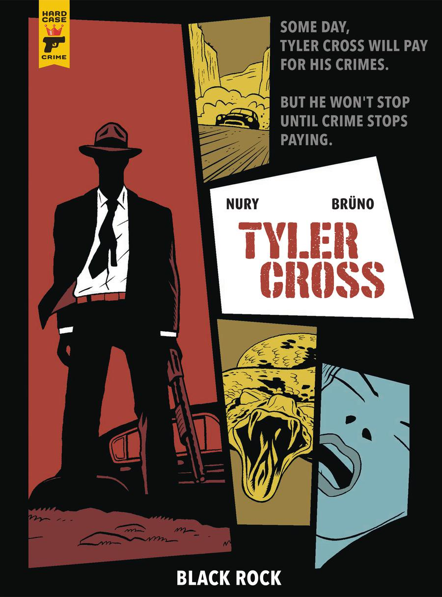 Hard Case Crime Tyler Cross Black Rock HC