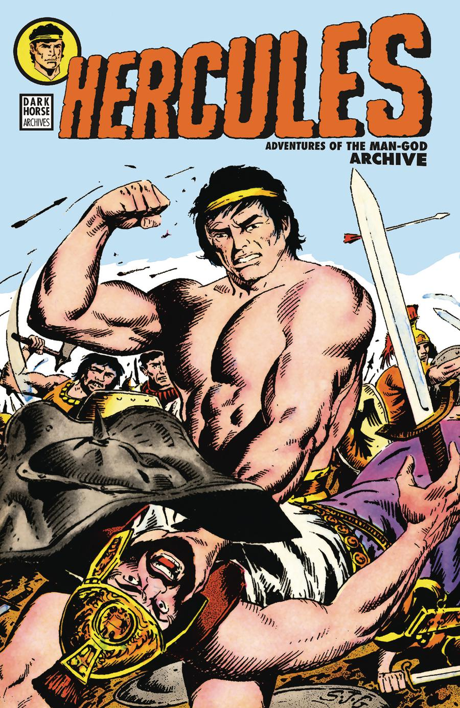 Hercules Adventures Of The Man-God Archive HC
