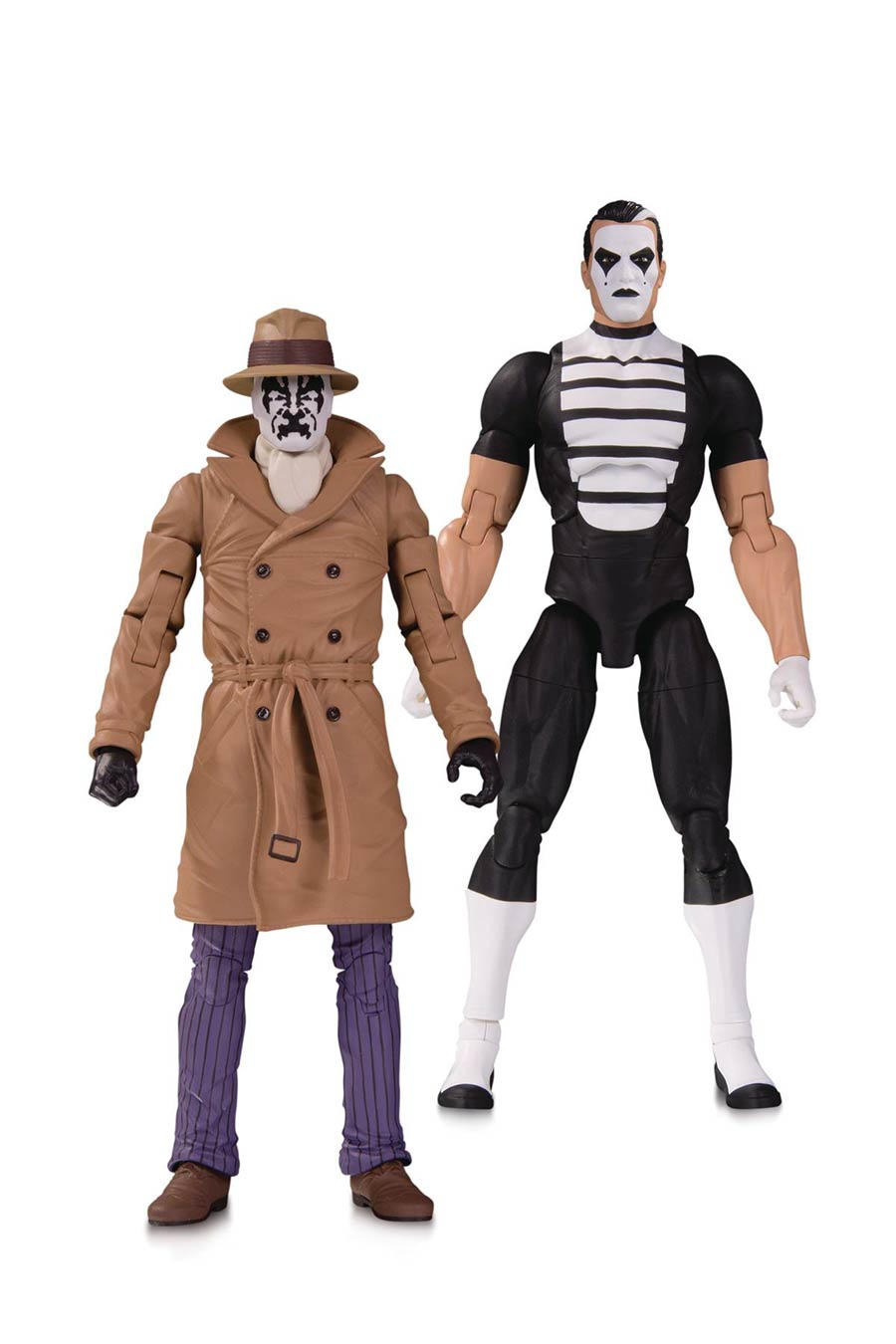 Doomsday Clock Rorschach & Mime 2-Pack Action Figure