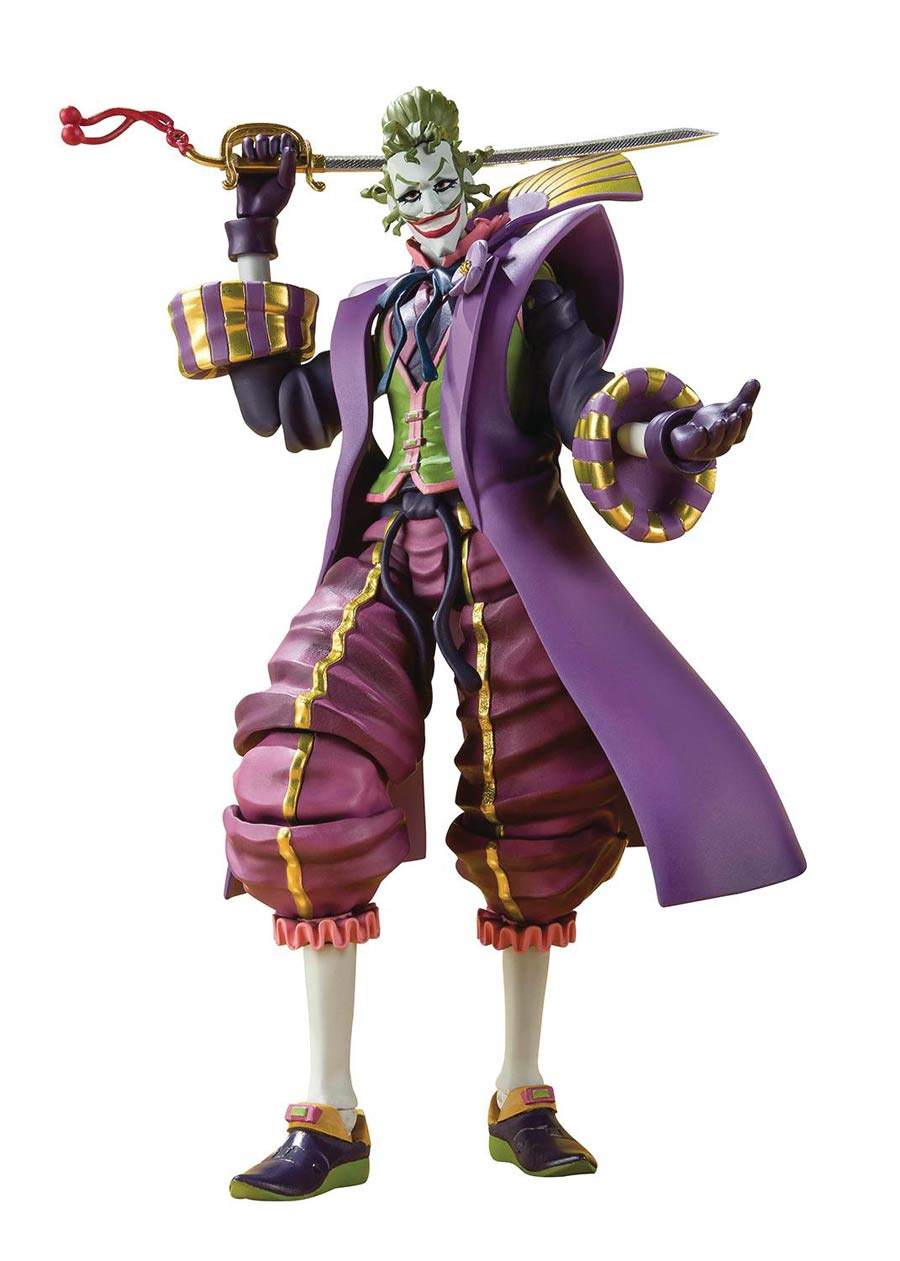 Batman Ninja S. H. Figuarts - The Joker Demon King Of The Sixth Heaven Action Figure