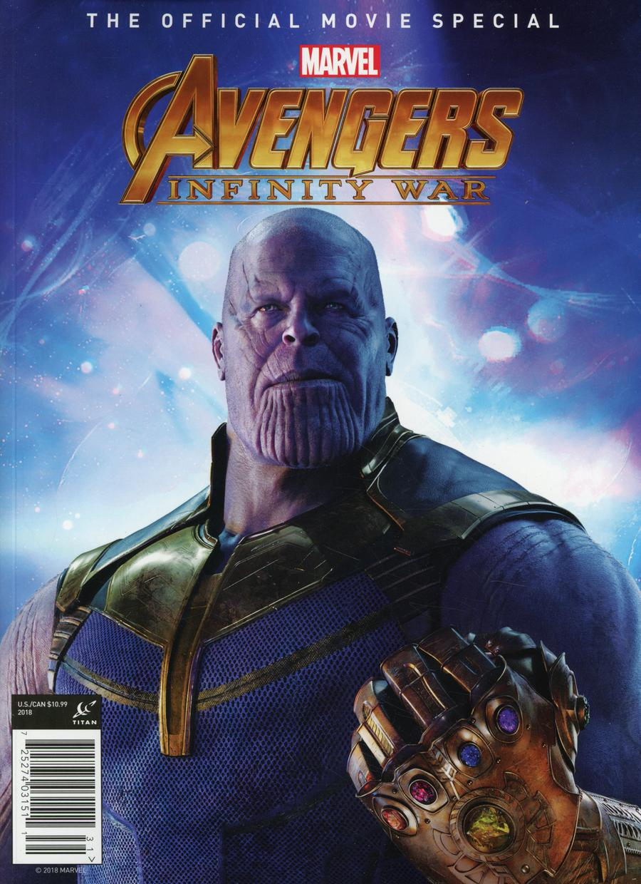 Marvel Avengers Infinity War The Official Movie Special Previews Exclusive Edition