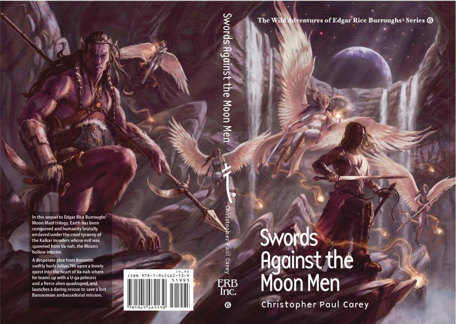 Wild Adventures Of Edgar Rice Burroughs Swords Against The Moon Men HC