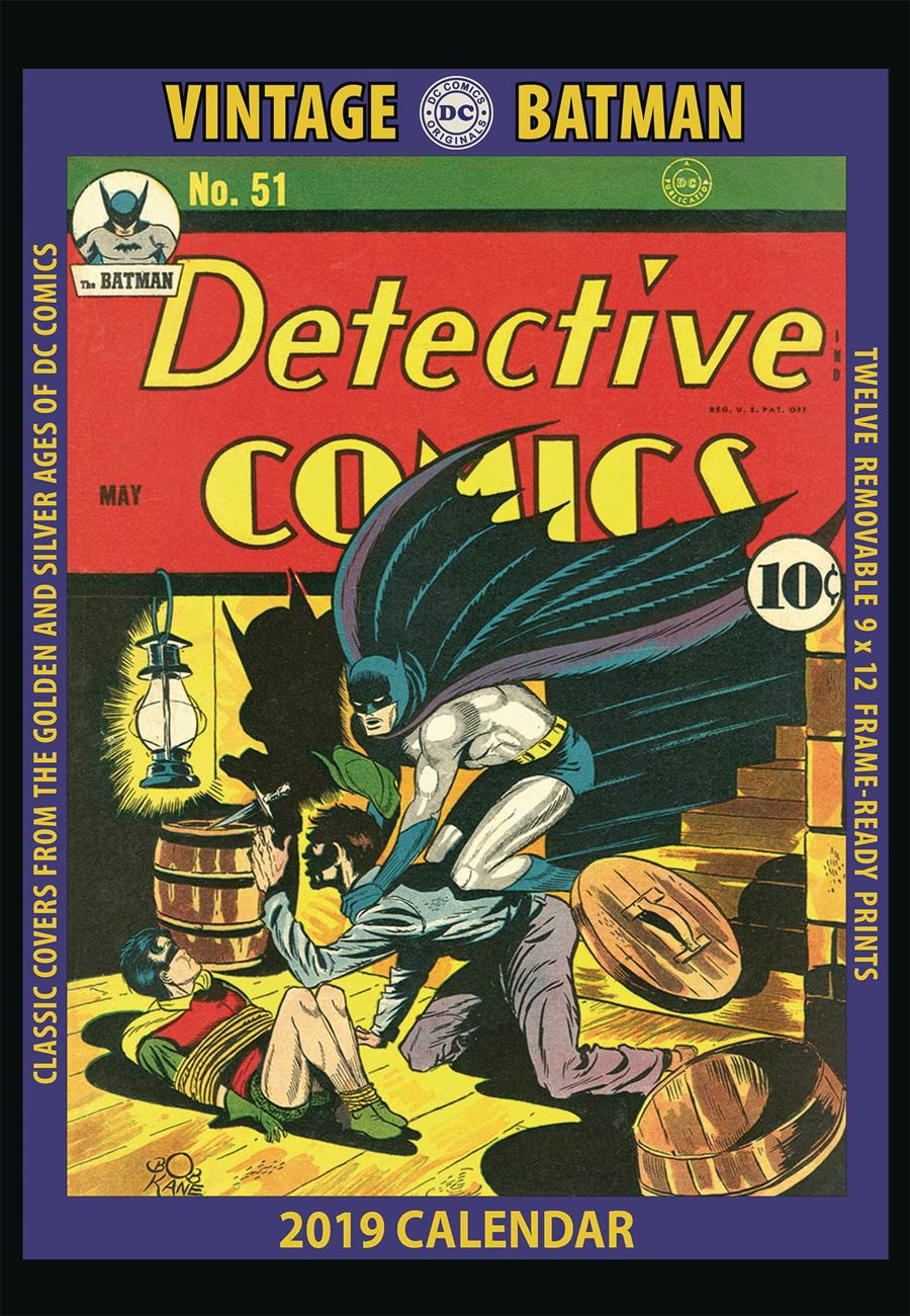 DC Comics Batman Pin~Vintage 1991~Image #1~NOS with Display Card