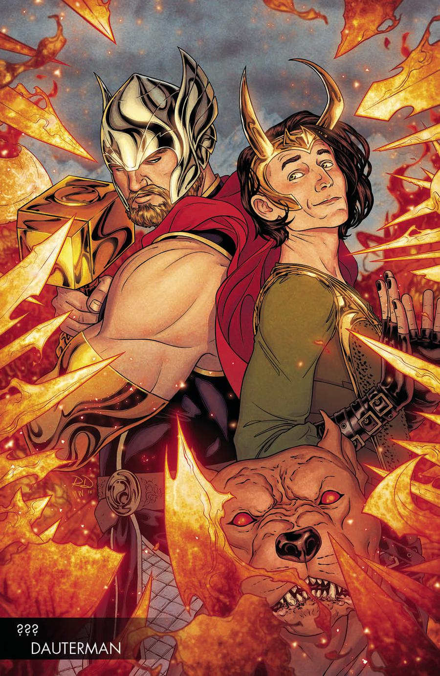 Thor Vol 5 #2 Cover B Variant Russell Dauterman Young Guns Cover