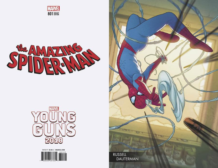 Amazing Spider-Man Vol 4 #801 Cover C Variant Russell Dauterman Young Guns Cover