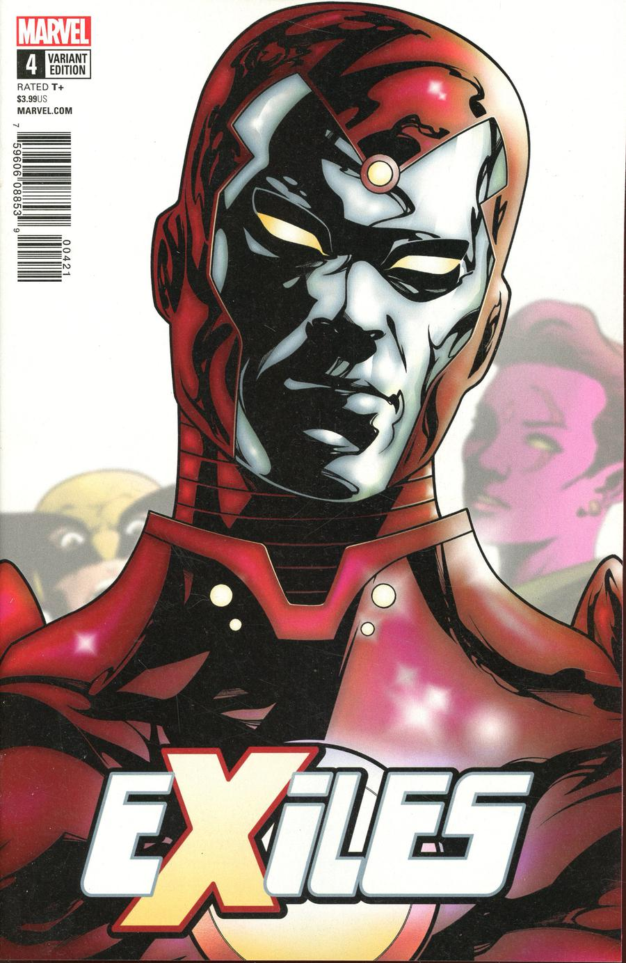 Exiles Vol 5 #4 Cover B Variant Mike McKone Character Cover