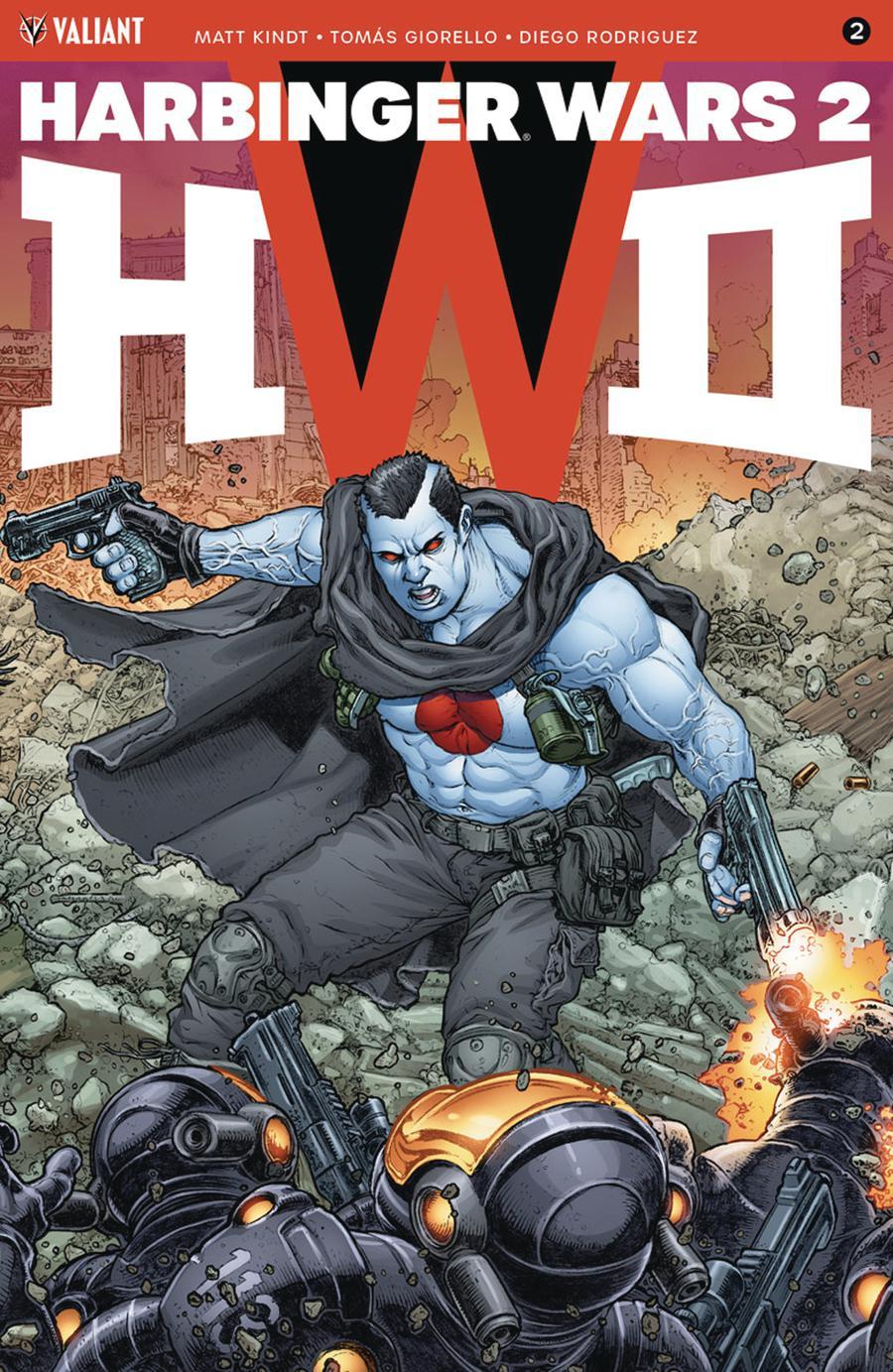 Harbinger Wars 2 #2 Cover D Incentive Juan Jose Ryp Interlocking Variant Cover