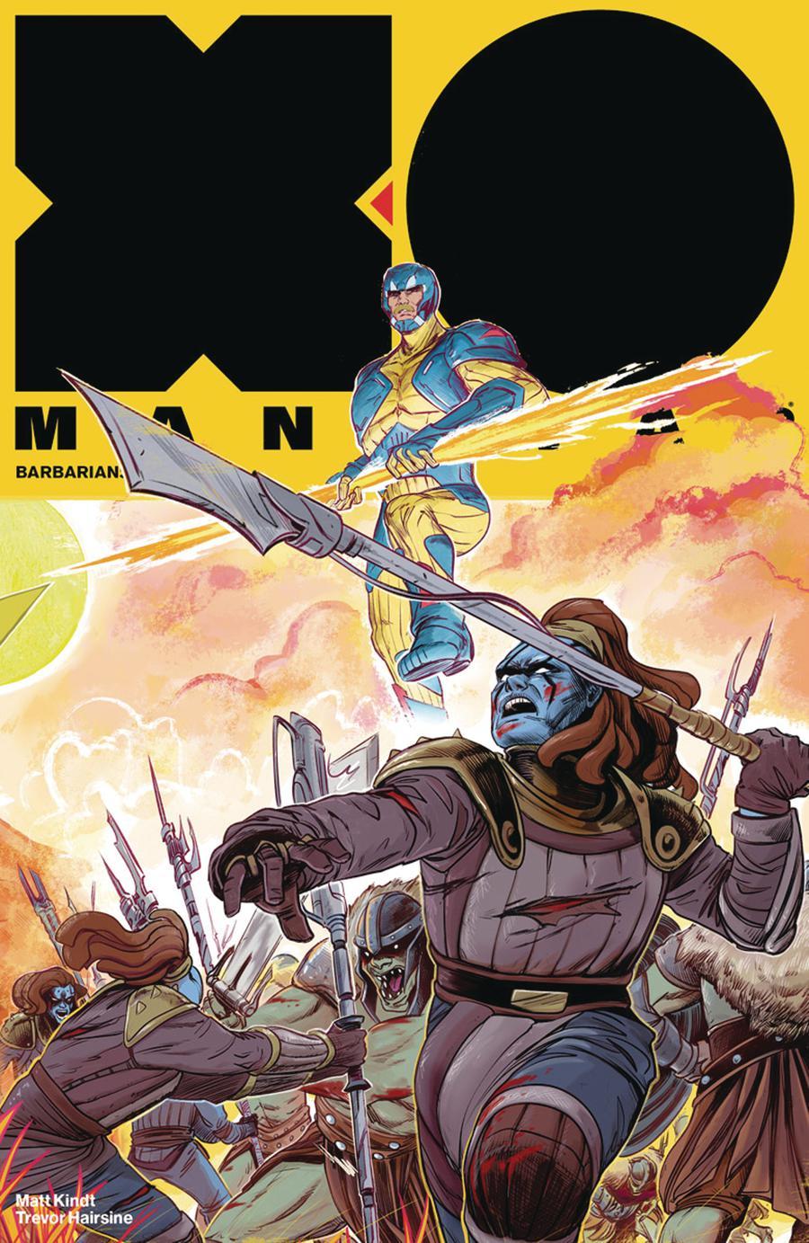 X-O Manowar Vol 4 #16 Cover D Incentive Veronica Fish Interlocking Variant Cover