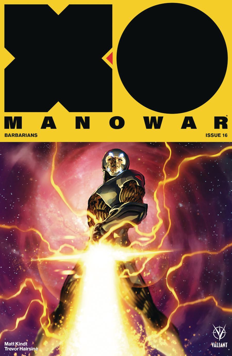 X-O Manowar Vol 4 #16 Cover E Incentive Philip Tan X-O Manowar Icon Variant Cover