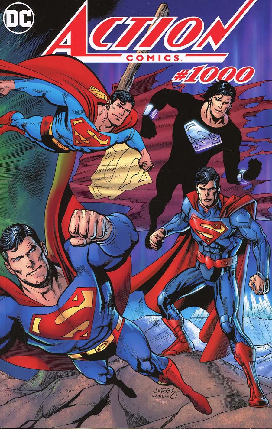 Action Comics Vol 2 #1000 Cover R DF Exclusive Dan Jurgens Wraparound Color Variant Cover