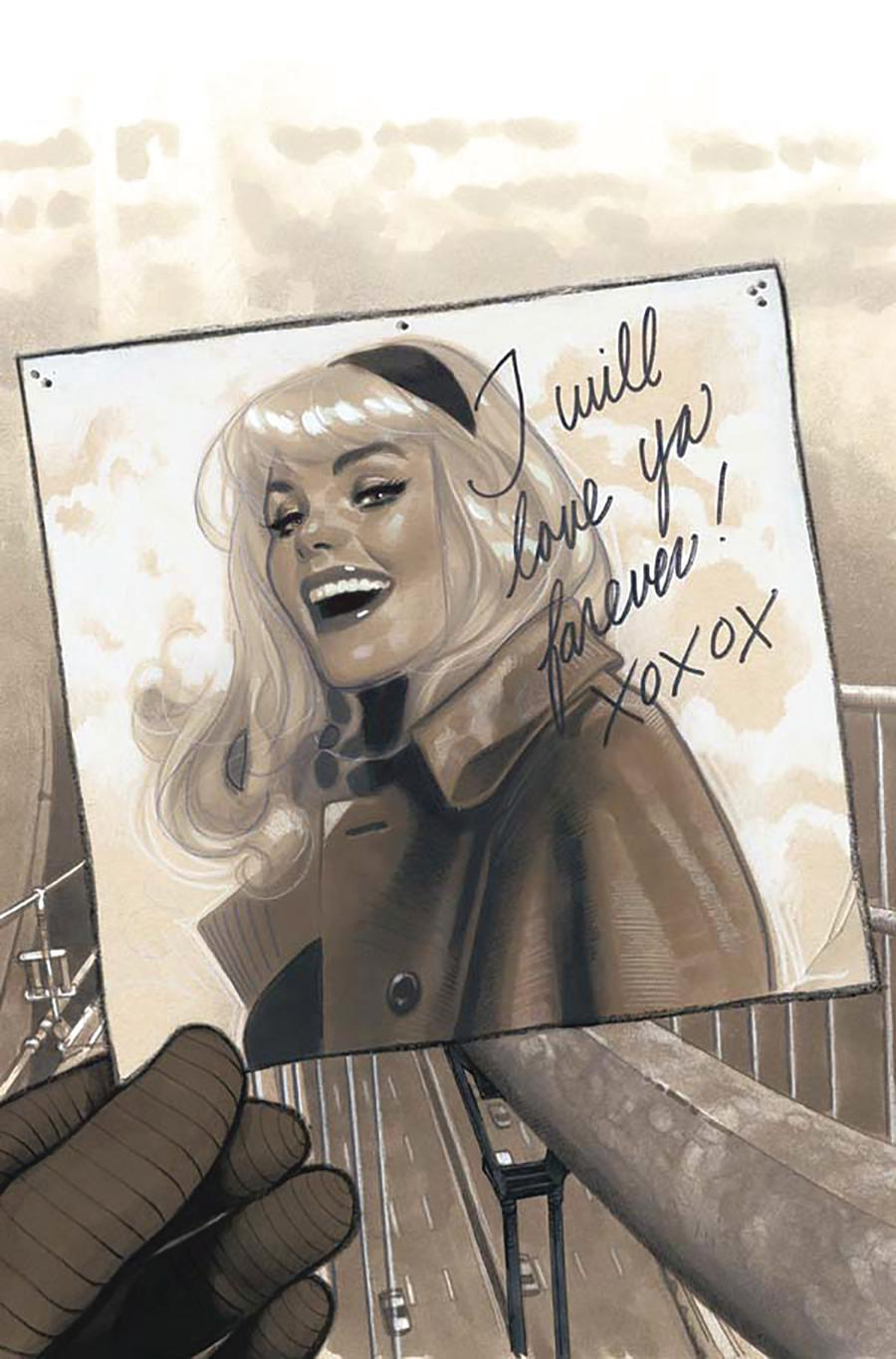 Peter Parker Spectacular Spider-Man #300 Cover R DF Exclusive Adam Hughes Copic Sepia Variant Cover Signed By Adam Hughes