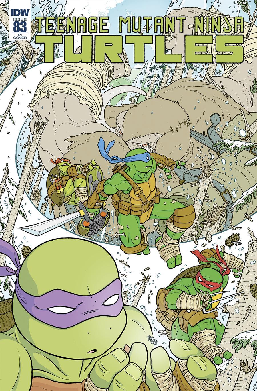 Teenage Mutant Ninja Turtles Vol 5 #83 Cover C Incentive Ulises Farinas Variant Cover