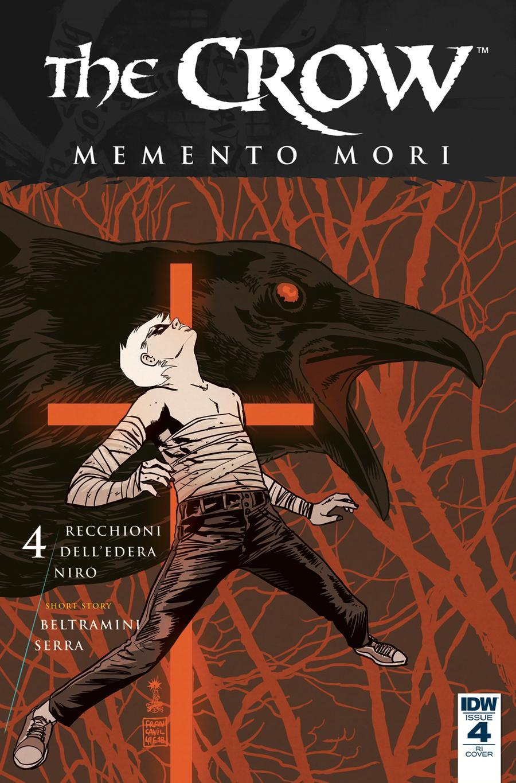 Crow Memento Mori #4 Cover C Incentive Francesco Francavilla Variant Cover